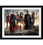 Justice League Movie - Characters (Stampa In Cornice 30x40)