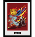 Justice League Movie - Trio (Stampa In Cornice 30x40)
