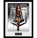 Justice League Movie - Wonder Woman (Stampa In Cornice 30x40)