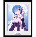 Re-Zero - Rem Clouds (Stampa In Cornice 30x40cm)