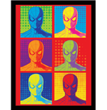 Spider-Man Homecoming - Pop Art (Stampa In Cornice 30X40 Cm)