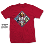 T-shirt Marvel Superheroes Diamond Characters