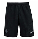 Pantaloncini Short Paris Saint-Germain 2017-2018 Third (Nero)