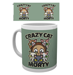 Rick And Morty - Crazy Cat Morty (Tazza)