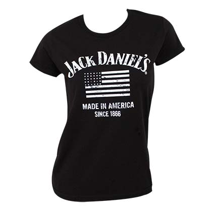 T-shirt Jack Daniel's Made In America da donna