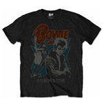 David Bowie - 1972 World Tour Blk (T-SHIRT Unisex )