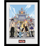 Fairy Tail - Season 1 Key Art (Stampa In Cornice 30x40cm)