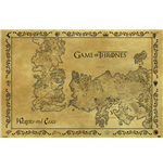 Game Of Thrones - Antique Map (Poster Maxi 61X91,5 Cm)