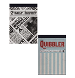 Harry Potter (The Quibbler & Daily Prophet) A6 Jotter Set (Taccuino A6)