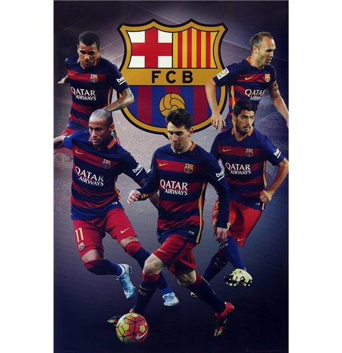 Barcelona - Star Players (Poster Maxi 61x91,5 Cm)