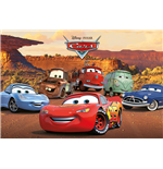 Cars - Characters (Poster Maxi 61X91,5 Cm)