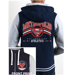 Dc Originals - Metropolis Athletics Zip (felpa Con Cappuccio Unisex )