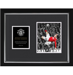 Manchester United - Rooney Historic (Stampa In Cornice 40x50 Cm)
