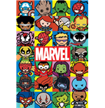 Marvel Kawaii - Characters (Poster Maxi 61X91,5 Cm)