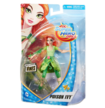 Mattel DMM38 - Dc Super Hero Girls - Small Doll 15 Cm Poison Ivy