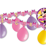 Minnie - Kit Festone Con 6 Palloncini