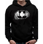 Felpa Batman - Design: Mono Distressed Logo