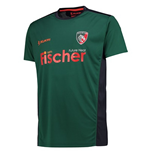 T-shirt Leicester Tigers 2017-2018 (Verde)
