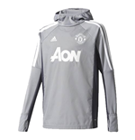 Giacca Manchester United 2017-2018 (Grigio)
