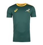 T-shirt Sud Africa rugby 2017-2018 Home (Verde)