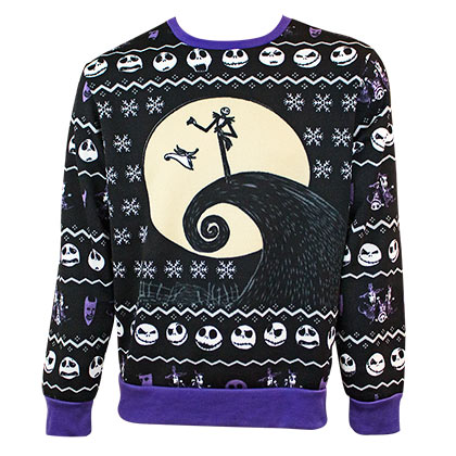 Maglione Nightmare before Christmas da uomo
