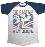 Beatles (THE) - Raglan Baseball Hey Jude Windswept (T-SHIRT Unisex )