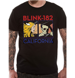 Blink 182 - Large California (T-SHIRT Unisex )