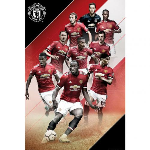 Poster Manchester United Players 41