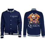 Queen - Crest (giacca College Unisex )