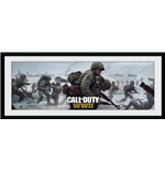Call Of Duty Wwii - Comaraderie (Stampa In Cornice 30x75 Cm)