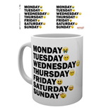Emoji - Days Of The Week (Tazza)