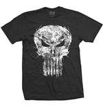 Marvel Comics - Punisher Skull Spiked (T-SHIRT Unisex )