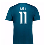 Maglia 2017/18 Real Madrid 2017-2018 Third (Bale 11)