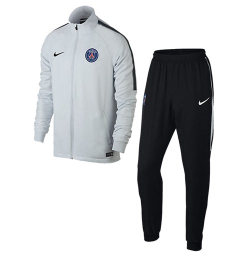 Tuta Paris Saint-Germain 2017-2018 (Bianco)
