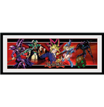 Yu-Gi-Oh! - Dark Side Of Dimension Duel (Stampa in Cornice 30x75cm)