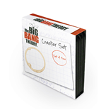 The Big Bang Theory 4 Coaster Set (Set 4 Sottobicchieri)