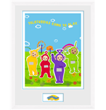 Teletubbies - Come To Play (White) (Stampa In Cornice 30x40cm)