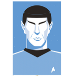Poster Star Trek - Pop Spock - 50Th Anniversary - 61X91,5 Cm