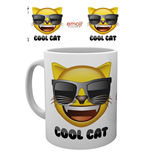 Emoji - Cool Cat (Tazza)