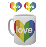 Pride - Love Heart (Tazza)