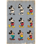 Mickey Mouse - Evolution (Poster Maxi 61X91,5 Cm)