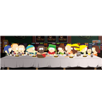 South Park - Last Supper (Poster Da Porta 53x158 Cm)