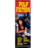 Pulp Fiction - Cover (Poster Da Porta 53X158 Cm)