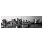 New York - Manhattan Morning (Poster Da Porta 53x158 Cm)