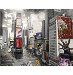 New York - Times Square 2 (Poster Mini 40x50 Cm)