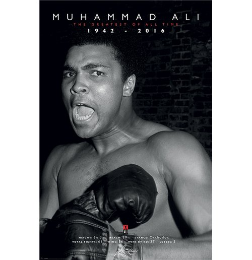 Muhammad Ali Commemorative - Greatest (Poster Maxi 61X91,5 Cm)