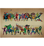 Marvel Comics - Line Up (Poster Maxi 61X91,5 Cm)