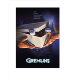 Gremlins - One-Sheet - Gizmo (Poster 80X60 Cm)