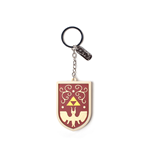Zelda - Hero'S Shield 3D With Charm 3D Red (Portachiavi)