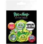 Rick And Morty - Quotes (Badge Pack)